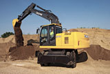 John Deere 190D W wheeled excavator
