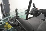 Construction equipment cab ergonomics