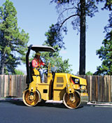 Caterpillar Paving rollers and compactors