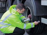 Arsenault Dossier Tire Management System automates tire data collection with digital tread depth and pressure gauge