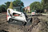 Bobcat Roller Suspension for compact track loaders