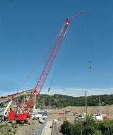 Manitowoc Model 14000 Hydraulic crane