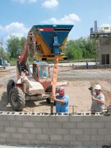 Stone Construction Equipment Groutzilla concrete placement system