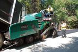 Vogele Vision asphalt paver