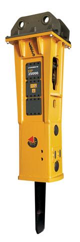 Indeco HP 25000 hydraulic breaker