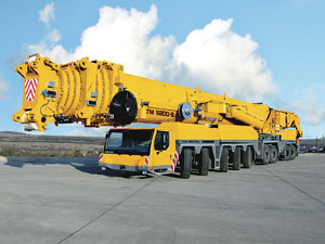 NCSG bought Liebherr's 1,200-tonne LTM 11200 all-terrain crane