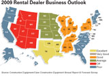 Heavy equipment rental forecast