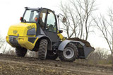 Wacker Neuson 850 All-Wheel-Steer Compact Loader