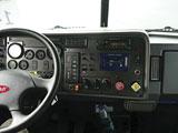 Peterbilt 335 interior