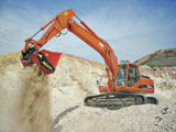 Allu SM Processing Excavator Attachment