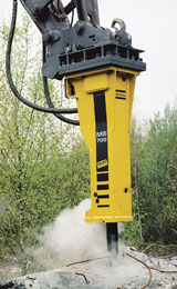 Atlas Copco HB 700 Hydraulic Breaker Excavator Attachment