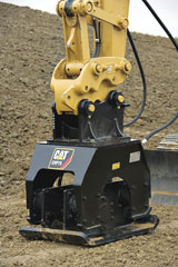 Caterpillar CVP75 Vibratory Plate Compactor Excavator Attachment