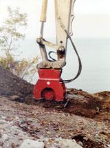 Hudco HC Compactor Excavator Attachment