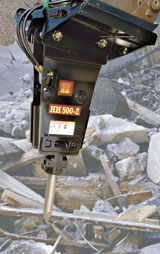Huskie HH500 Hydraulic Breaker Excavator Attachment
