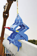 Kenco Barrier Lift Excavator Attachment
