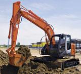 Hitachi ZX135US-3 Crawler Excavator