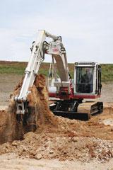 Takeuchi TB1140 Crawler Excavator