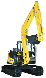 Yanmar SV 100 Crawler Excavator