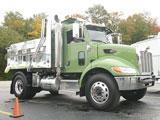 Peterbilt hybrid 335 dump truck