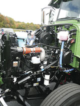 Paccar diesel in the Peterbilt 335
