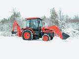 Kioti compact tractor loader