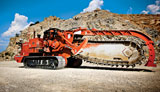 Ditch Witch HT300 rock trencher