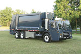 MACK TerraPro Low Entry garbage truck with hybrid electric power train