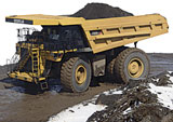 Caterpillar 785D rigid frame haul truck