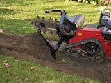 Toro backfill blade for TRX trenchers