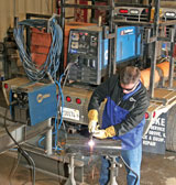 Miller Electric Trailblazer 302 Air Pak gasoline-engine-driven welder
