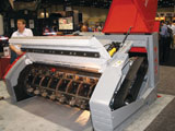 PTH 2500HD crusher attachment