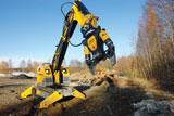Brokk 260 remote-controlled mini excavator