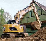 Caterpillar 314D CR, 314D LCR Crawler Excavators