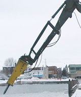 Nye 8-Foot Parallel Link Stick Extension