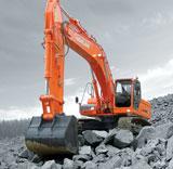 Doosan Infracore DX350 excavator