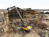 Volvo EC700BHR demolition excavator