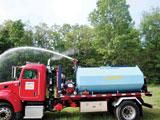 Marrel skid-mounted water tank