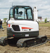 Bobcat E60 Crawler Excavator