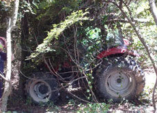 Stolen tractor recovered in Texas using LoJack