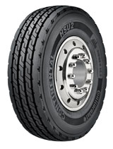 Continental HSU2 Heavy-Truck Steer Tire