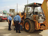 Equipment theft recovery