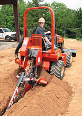 Ditch Witch RT45 trencher