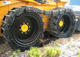 Radmeister OTT steel tracks for skid steers