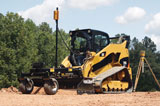Caterpillar Compact Loader AccuGrade System