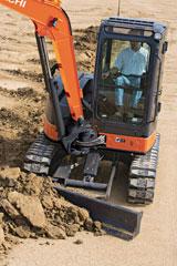 Hitachi ZX50U-3 mini excavator
