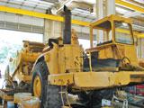 1986 Cat 615C scraper rebuilt using Caterpillar's EPA-verified Emissions Upgrade Group