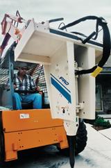 Furukawa Hydraulic Breakers small series KF 3 breaker for skid steer loader