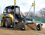 CEAttachments Edge grader attachment for skid steer loader