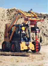 General Equipment 671 Dig R Tach skid steer attachment