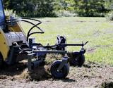 Harley M Series power box rake attachment for skid steer